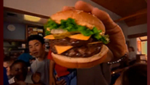 Burger King Sam Mills Commercial